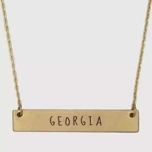 Georgia State Bar Necklace
